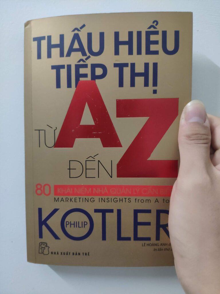 mua sách thấu hiểu tiếp thị từ a đến z